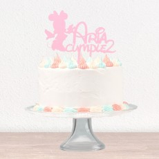 "Cake topper infantil ""MOUSE"" personalizable✎"