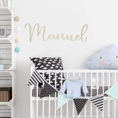 Nombre madera | Lovely Mint