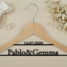 "percha personalizada ""Linen"" 