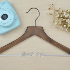"percha personalizada ""Vintage"" 