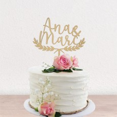 Cake topper Laurel | Lovely Mint