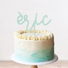 Cake topper infantil | Lovely Mint
