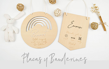 Placas y banderines | Lovely Mint