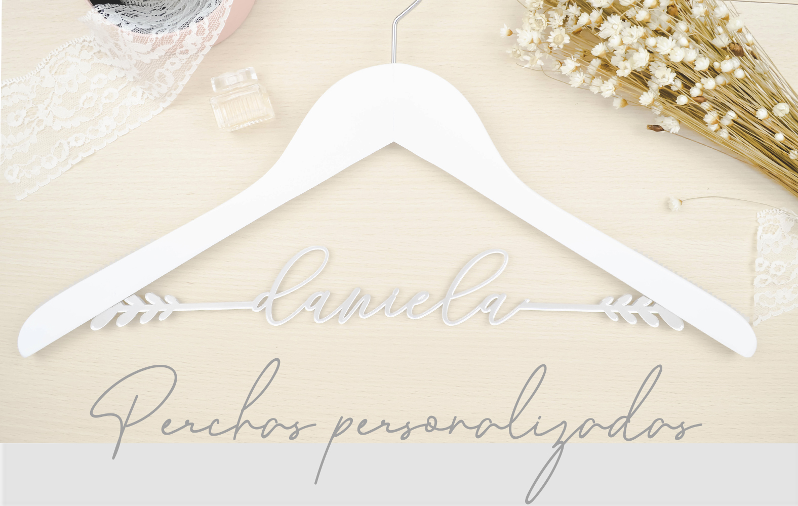 Perchas personalizadas | Lovely Mint